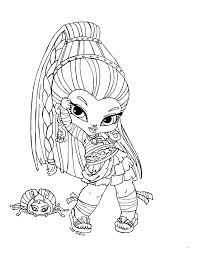 monster baby coloring pages baby nefera nile coloring