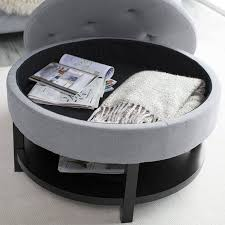 Coffee Table Storage Ottoman Coffee Table Awesome Ottoman Table Top Oversized Ottoman Large