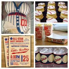 baseball baby shower ideas 32 best shower for gannon images on boy baby showers