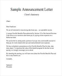 Change Of Address Announcement Letter Announcement Letter Template Business Transfer Notification