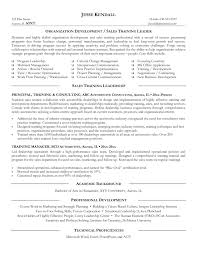 Instructor Resume Example by Trainer Resume Example Baileybread Us