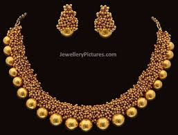 bead jewelry necklace designs images Gold necklace designs with beads jewellery designs necklace beads jpg