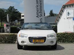 used chrysler sebring 2 7i v6 24v lx convertible automaat leder