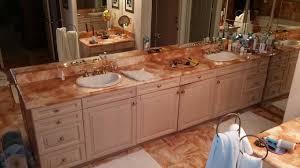 bathroom cabinets bathroom cabinet refacing before and refacing