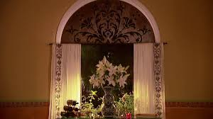 curtain ideas for kitchen living room bedroom hgtv arched window