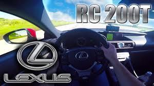 lexus rcf coupe top speed 2016 lexus rc 200t 0 245 km h pov autobahn acceleration top