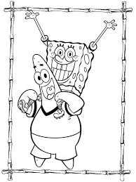 spongebob coloring pages download and print spongebob coloring pages
