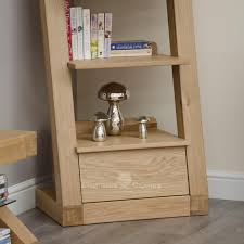 narrow wood bookcase designer solid oak 1 drawer narrow bookcase bookcases pine
