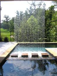 modern water feature vertical water feature from watercolors custom pools pools