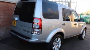 silver land rover lr4 land rover discovery 4 sdv6 hse finished in zambezzi silver at rix