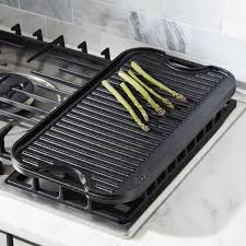 Cooktop With Griddle And Grill Griddles And Grill Pans Crate And Barrel