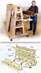 Wood Storage Rack Woodworking Plans by 265 Best Workshop Ideas Images On Pinterest Workshop Ideas
