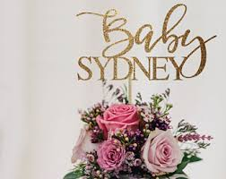 pink and gold baby shower decorations gold baby shower etsy