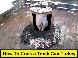 turkey can how to cook a trash can turkey howtolou
