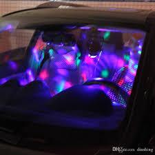 mini disco ball light 3w usb charge car dj light led stage effect lighting mini disco ball