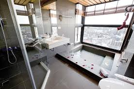 large bathroom designs modern bathroom with large tile interior design ideas