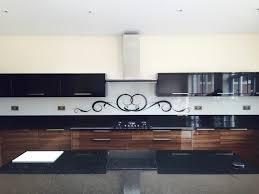 kitchen splashback ideas uk swirls glass kitchen splashbacks by creoglass design uk
