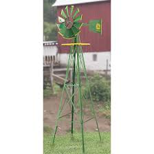 licensed john deere steel windmill 135011 decorative