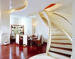 home interior design steps stair comely home interior design using half turn curved