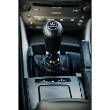 lexus leather gear shift knob stick 5 6 speed manual transmission