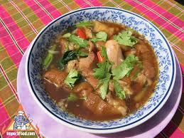 galangal cuisine recipe pork with galangal kha mu importfood