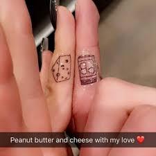 ariel winter and boyfriend matching tattoos