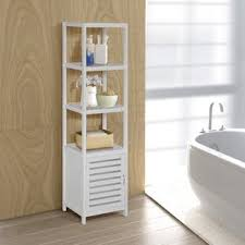 Bathroom Vanity Storage Tower Linen Cabinets Towers You Ll Wayfair