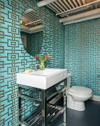 Small Bathroom Wallpaper Ideas Colors 48 Best Bathroom Wallpaper Images On Pinterest Bathroom