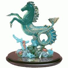 horse statues for home decor sea horse hippocampus statue seahorses and belize
