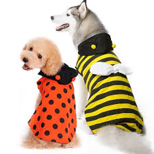 Halloween Costumes Large Dogs Bumble Bee Reversible Dog Costume Bowwowsbest Dog