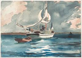 homer winslow homer sloop nassau the met