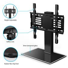 Wall Mount 47 Inch Tv Universal Tv Stand With Swivel Mount Pedestal Base Wall Mount For
