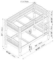 bunk bed measurements twin bunk bed measurements interior design ideas for bedrooms