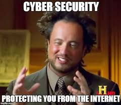 It Security Meme - ancient aliens meme imgflip
