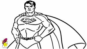 draw superman superman series