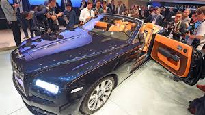 roll royce purple rolls royce dawn makes world debut