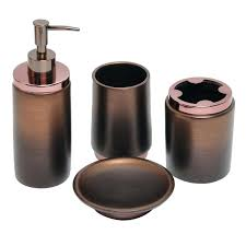 oil rubbed bronze bathroom countertop accessories canada set bath