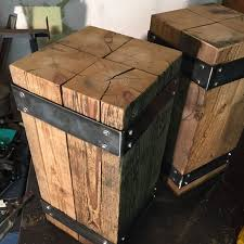 Free Plans To Build End Tables by Best 25 Industrial Side Table Ideas On Pinterest Industrial