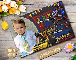 robocar poli birthday party invitation customizable