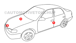 mercedes benz paint code locations touch up paint