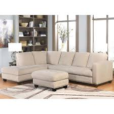 richmond fabric sectional and ottoman living room set