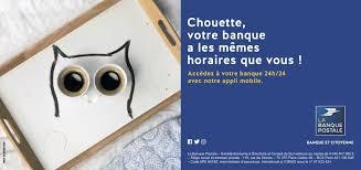 siege social mobile la banque postale 24h 24