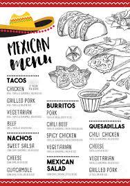 restaurants menu templates free mexican menu placemat food restaurant menu template design mexican menu placemat food restaurant menu template design vintage creative dinner brochure with hand