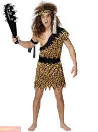 Cave Woman Halloween Costumes Adults Caveman Costume Mens Ladies Cave Fancy Dress Women