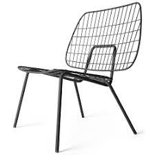 lounge chair by studio wm outdoor indoor light steel wire lounge