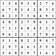 solutions for sudoku 001 and 002 easy free printable puzzles