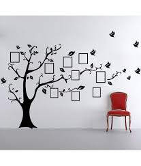 wall stickers with photo frames india wall stickers with photo frames india decor kafe photo frame tree wall sticker black