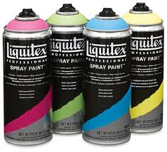liquitex professional spray paint blick art materials