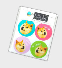 Make Doge Meme - funny doge meme sticker set these stickers will make wonderful