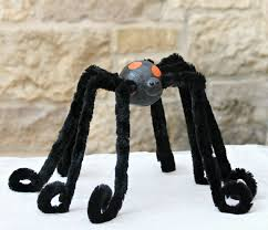 diy giant spider decor for halloween morena u0027s corner